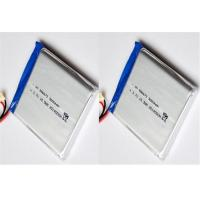 Wholesale High Capacity Li Polymer Battery Pack 3.7V With 2.75V 500 Cycles Life , 0.2C Charge Current from china suppliers