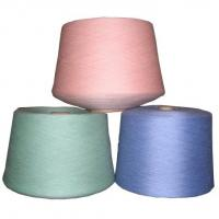 Wholesale 100% Virgin ring spun Polyester Blended Yarn for Knitting, socks, dyeable from china suppliers
