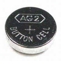 China 1.5V Alkaline Button-cell Battery with 0 to 45°C Temperature Range, Measures 7.8 x 2.6mm on sale