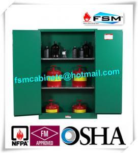 Best Fireproof 45 Gallon Hazardous Storage Cabinets Adjustable Shelf For Storing Dangerous Goods wholesale