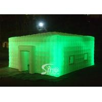 Wholesale 8x8 meters outdoor giant led light inflatable cube tent for parties or events etc from china suppliers