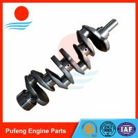 Wholesale KOBELCO excavator diesel engine parts, 4LE2 crankshaft 8-90063828-5 for excavator SK75 from china suppliers