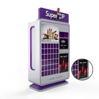 Wholesale 220V Makeup Coin Vending Machine , Self Service Lipstick Vending Machine from china suppliers
