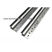 Wholesale Aluminum Laminate To Carpet Threshold/ Trim / Door Strip With Glossy Silver from china suppliers