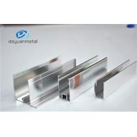 Wholesale Dip Anodizing 5u Extruded Aluminum Profiles For Curtain Wall from china suppliers