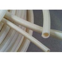 Buy cheap 200 Degrees High Temperature Flexible Tubing Silicone Coating Fiberglass Braided from wholesalers