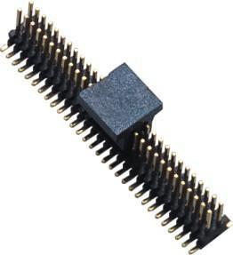 1.0mm Dual ROW SMT  Pin Header Connector Single GF Brass Gold Flash