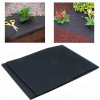 Buy cheap 50G Heavy duty weed control fabric ground cover membrane gardening landscape from wholesalers