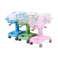 China Plastic Bassinet Pediatric Hospital Bed , Hospital Baby Cart Weight Measuring Available on sale