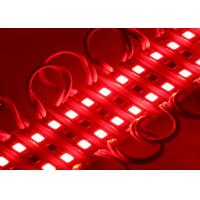 China Slim Backlight Channel Letter Red Led Module , Mini SMD 2835 2 Led Module on sale