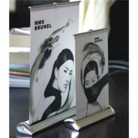 China Desktop Mini Style Roll Up Banner Stand on sale