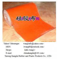 Wholesale hi-temperature silicone coated fiberglass fabric from china suppliers