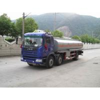 JAC Mobile Refueling Oil Tank Truck 6x2 , Fule Oil Delivery Trucks 20000L