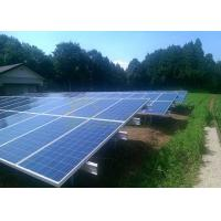 Wholesale Weather Resistant Solar Panel Ground Mount Kit , Unique Ground Mounting System from china suppliers