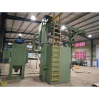 Wholesale Automatic Industrial Shot Blasting Equipment 4.3 r / Min Hanger Rotate Speed from china suppliers
