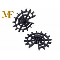 Wheel Concrete Plastic Rebar Cage Spacers Position Reinforcement Cages ISO9001 for sale