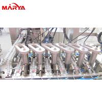 2-6 Heads IV Bag Filling Machine 2500 Bottles For Multi - Layer Non PVC Soft Bag for sale