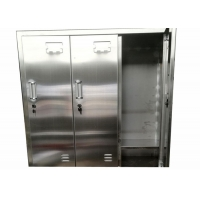 Buy cheap Clean Room Laboratory SS 304/316L Cleanroom Garment Cabinet Locker Free Design from wholesalers