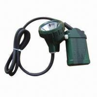 Wholesale LED Miner Lamp with 3.6V Rated Voltage, 3.5Ah Rated Capacity and 20 Hours Lighting Time from china suppliers