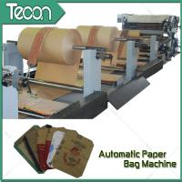 Pasted Valve Multiwall Chemical Paper Bag Machine For Cement Bag 1 Year Warranty for sale