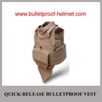 Wholesale Wholesale Cheap China NIJ Quick Relase Full Protection Police Bulletproof Jacket from china suppliers