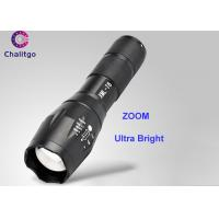 Wholesale 800LM Rechargeable Led Flashlight / Brightest Handheld Flashlight CREE XML T6 Adjustable ZOOM from china suppliers