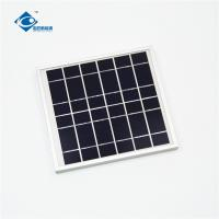 China 6V 4W transparent mini solar panels for mobile solar charger ZW-4W-6V-1 solar panel photovoltaic for sale
