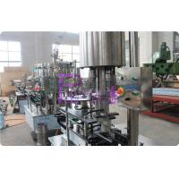 Wholesale Stainless Steel Carbonated Drink Filling Machine , CSD Bottle Automatic Capping Machine from china suppliers