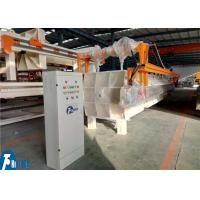 China High Pressure Recessed Chamber Filter Press Equipment With Cloths Washing Device on sale
