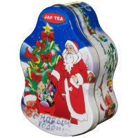 Best Santa Claus Metal Tin Container For Christmas Holidays , Custom Box wholesale