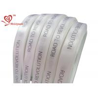 32mm personalized printed ribbon For Wrapping Products , logo printed gift wrap ribbon for sale