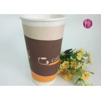 Wholesale 20oz Top Dia 90mm double wall disposable coffee cups Custom Printing from china suppliers