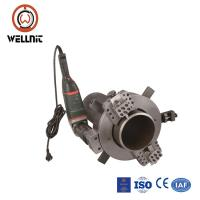 China Self Centering Pipe Cutting And Beveling Machine Chuck Type Clamshell Pipe Cutter on sale