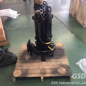 Low Pressure Submersible Sewage Pump , Non Clog Drainage Submersible Pump