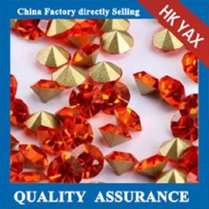 Wholesale Shiny Hyacinth glass chaton mc,machine cut glass chaton,mc glass chatons from china suppliers