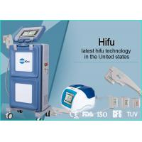 Vertical Portable HIFU Machine High Intensity Focused Ultrasound For Face Lifting for sale