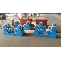 Single Drive Self Adjustable Pipe Welding Rollers 20 Ton Pipe Rotators For Welding