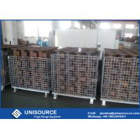 Wholesale Heavy Storage Steel Wire Cage Galvanized Steel Wire Mesh Storage Boxes from china suppliers
