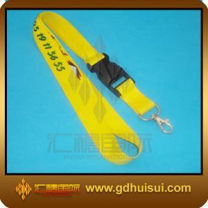 China cheap custom lanyards no minimum order on sale