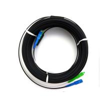 Wholesale Waterproof Duplex LC Ftth Patch Cord , Blue Outdoor Patch Cord UL Certificated from china suppliers