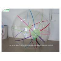 Wholesale Adults and Kids Walk On Water Balls With Colorful Stripes And TIZIP Zipper from china suppliers