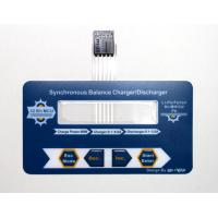 Thin Flexible PET Membrane Switch Keyboard With Transparent Window