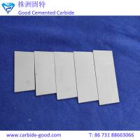 Wholesale YG6/yg8/yg15 tungsten carbide plate brazed strip tips of trapezoid shape from china suppliers