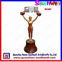Wholesale cheerleader action trophy from china suppliers