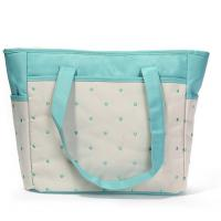 China wholesale microfiber baby diaper bag /mummy diaper bag with changing mat on sale