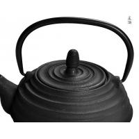 Wholesale Classic Thread Pattern Cast Iron Tea Set Wth 700ml Teapot , 150ml Teacup from china suppliers