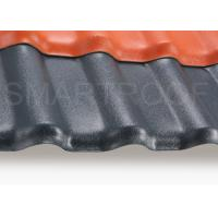 China Fire Proof Synthetic Corrugated Plastic Sheeting 2.3 mm , Low Heat Conductivity on sale