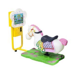 China Amusement Park Mame Arcade Machine , Electric Video Kiddie Ride Car Kids Coin Machine on sale