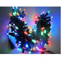 Hot  sale 110v 120v 100led RGB twinkle Christmas string lights 10m flashing with controller for sale