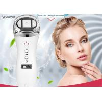 China Portable Radio Frequency Face Lift Device , Ultrasonic Ion Face Beauty Stimulator for sale